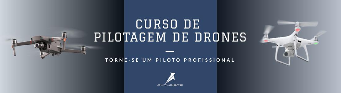 curso de drone futuriste