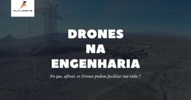 Tudo que os Drones podem fazer na Engenharia.
