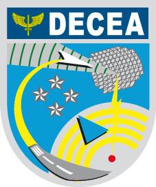 Logotipo do DECEA, um dos órgãos reguladores do Mercado de Drones