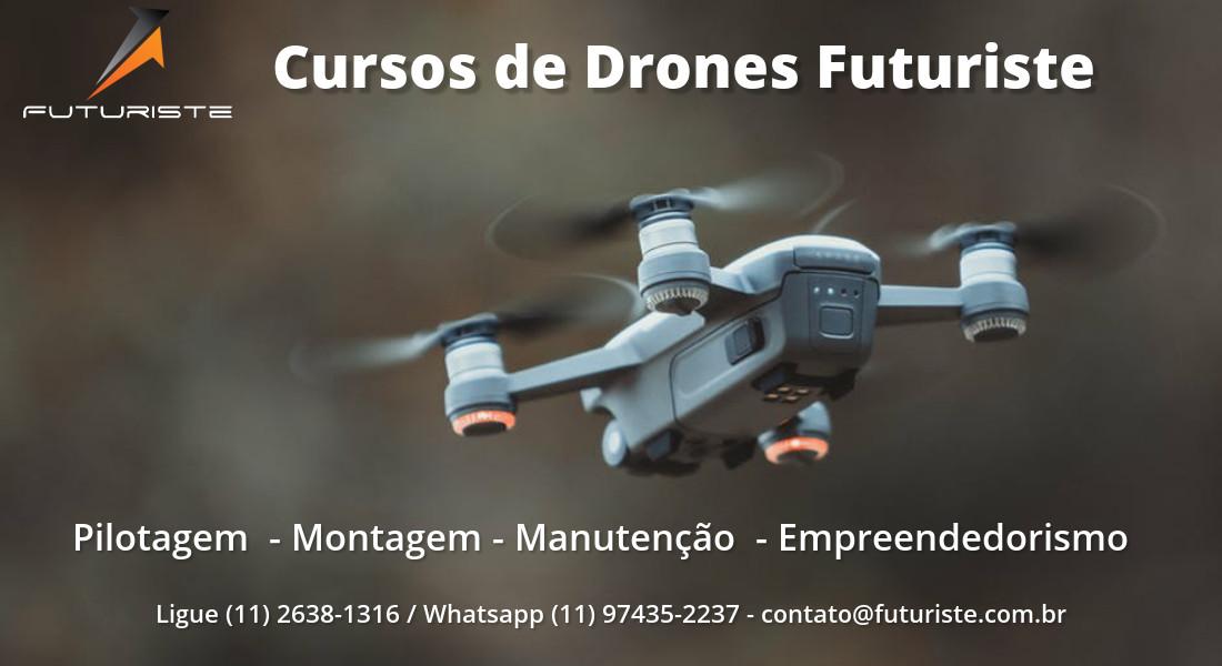 aumentar o tempo de voo do seu drone