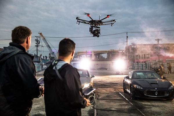 drones no cinema