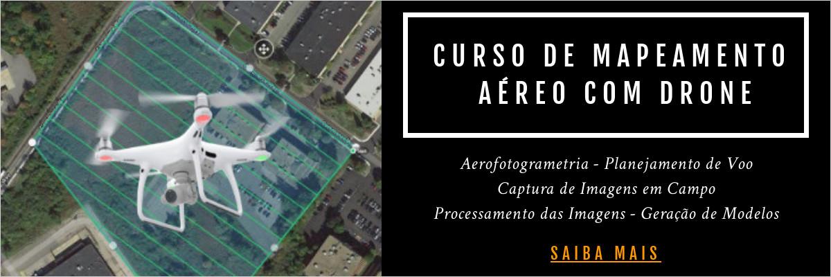 curso de mapeamento aereo com drone