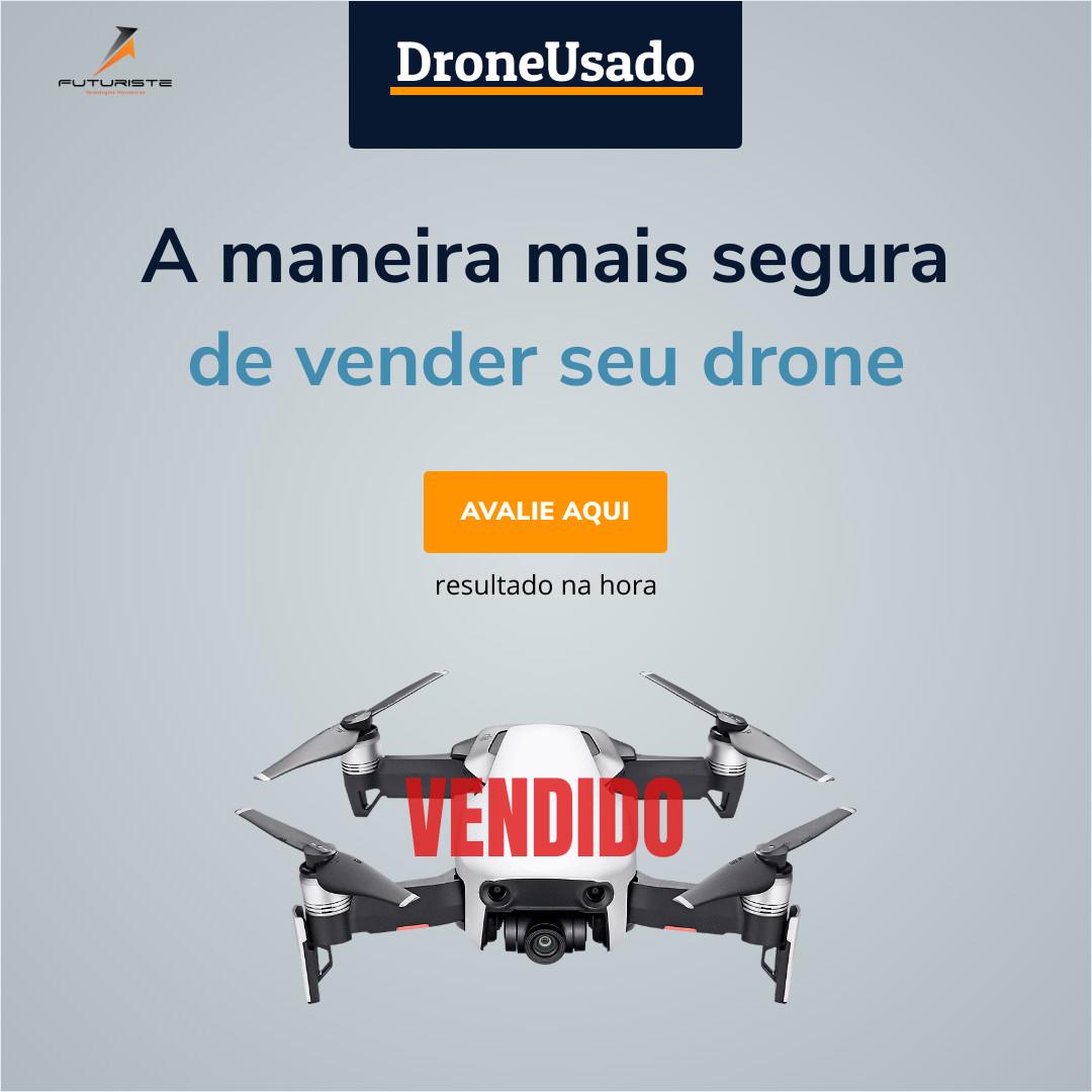 Avalie seu drone usado gratuitamente