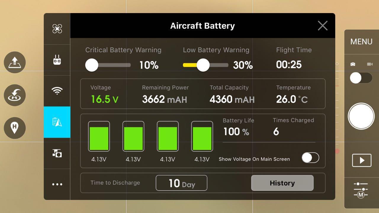 ciclos de uso de uma bateria usada