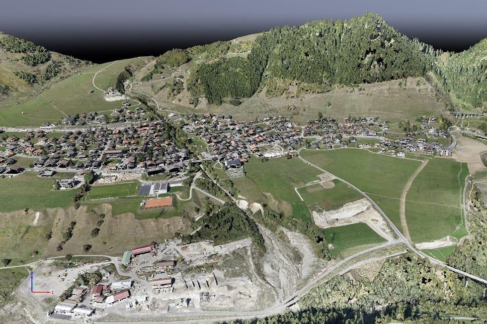 Nuvem de Pontos por mapeamento com drones
