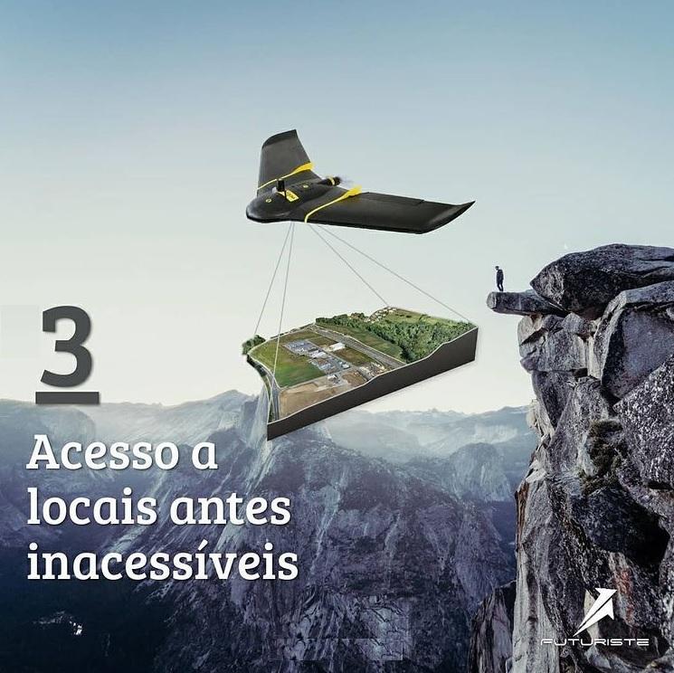 mapeamento aéreo com drones - acesse novos locais